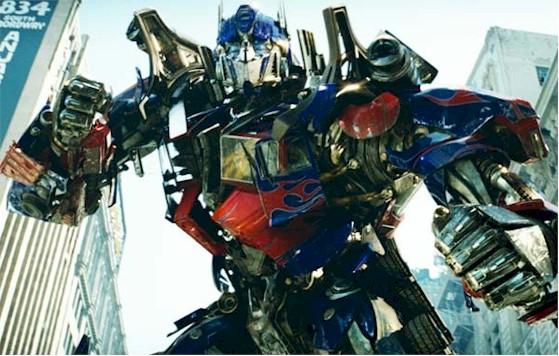 Optimus Prime Transformers Movie