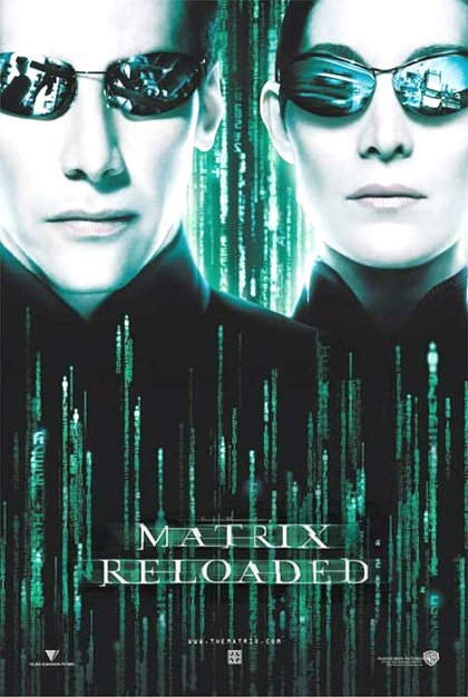 Matrix Reloaded locandina